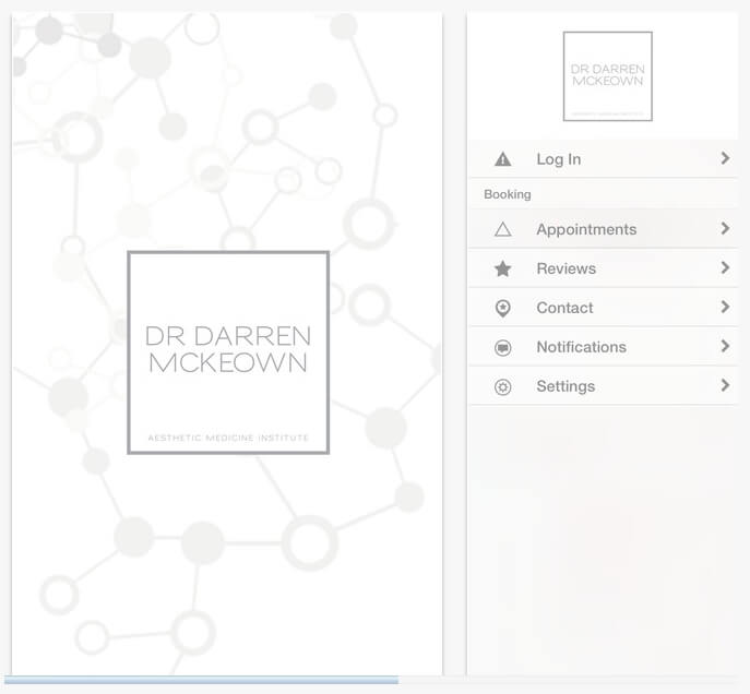 Dr Darren Mckeown Booking Appointment App Download Image